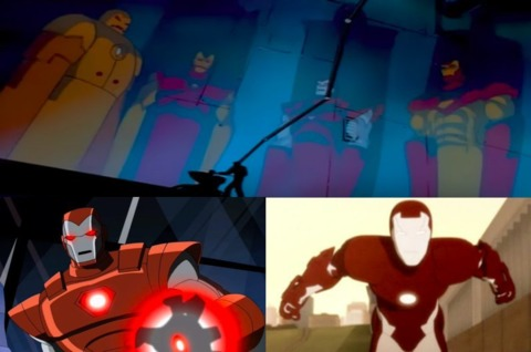 The suits various animated appearances