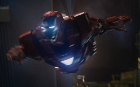 The suit in Iron Man 3