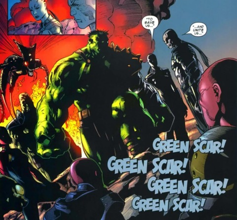 Hulk and the Warbound as heroes of the people