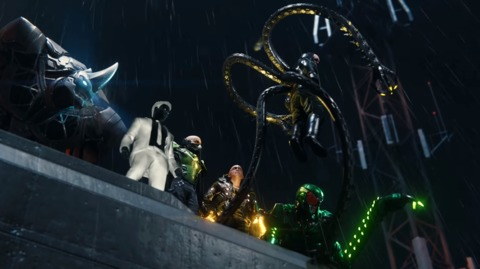 The Sinister Six in the PS4 game