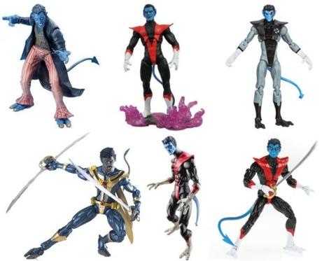 Figures from ToyBiz, Diamond Select and Hasbro