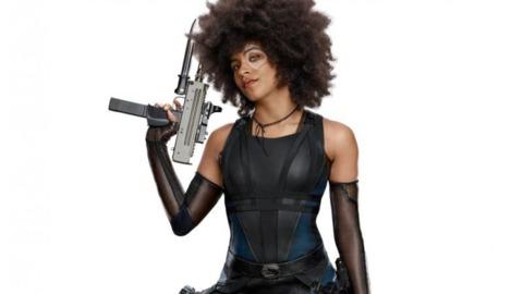 Zazie Beetz as Domino