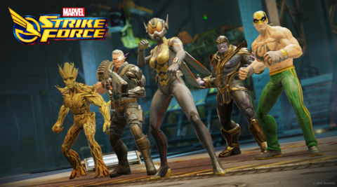 Wasp in Marvel Strike Force