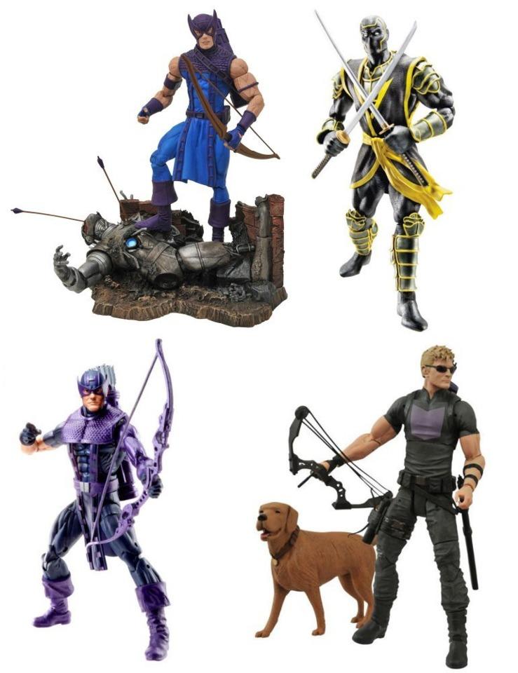 Marvel Legends and Marvel Select