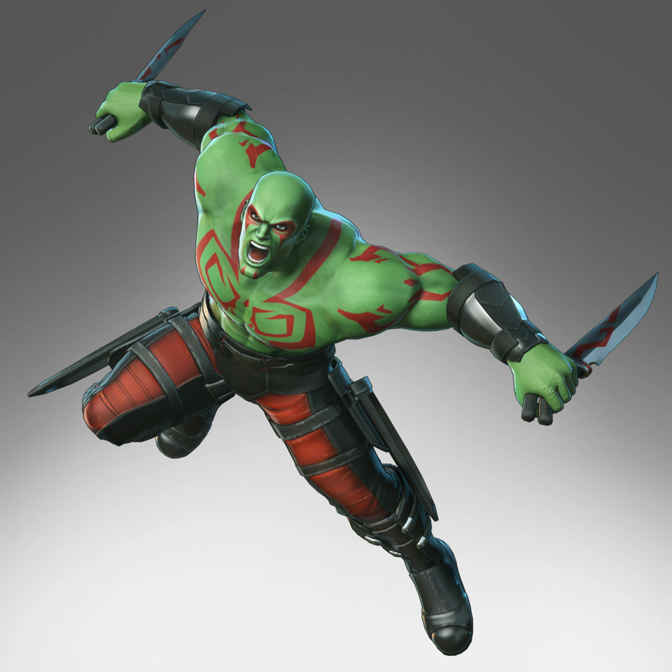 Drax in Ultimate Alliance 3