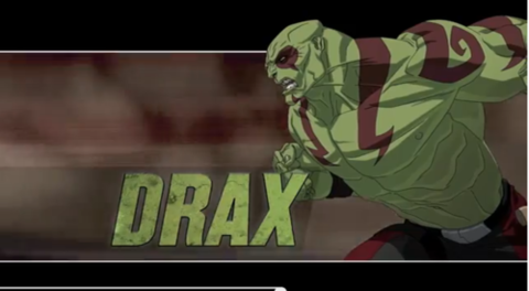 Drax in Ultimate Spider-Man