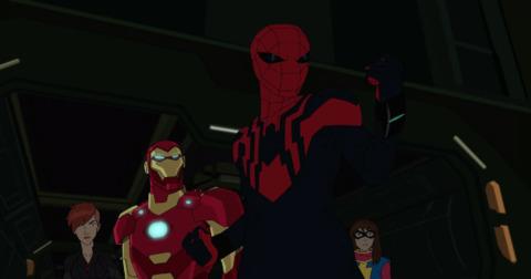 Otto as Superior Spider-Man