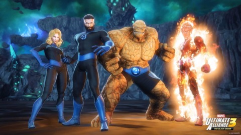 The FF in Ultimate Alliance 3