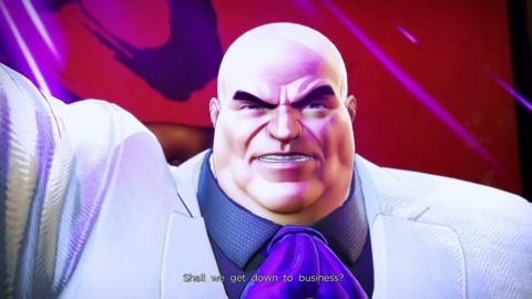 Kingpin in Ultimate Alliance 3