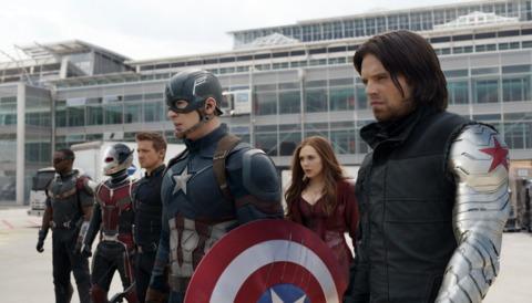 Bucky in Civil War