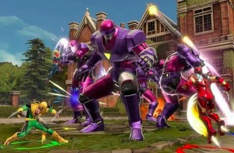 Sentinels in Ultimate Alliance 3