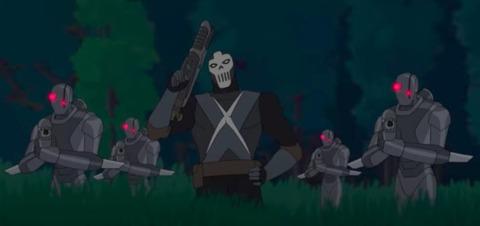 Crossbones in Black Panther's Quest