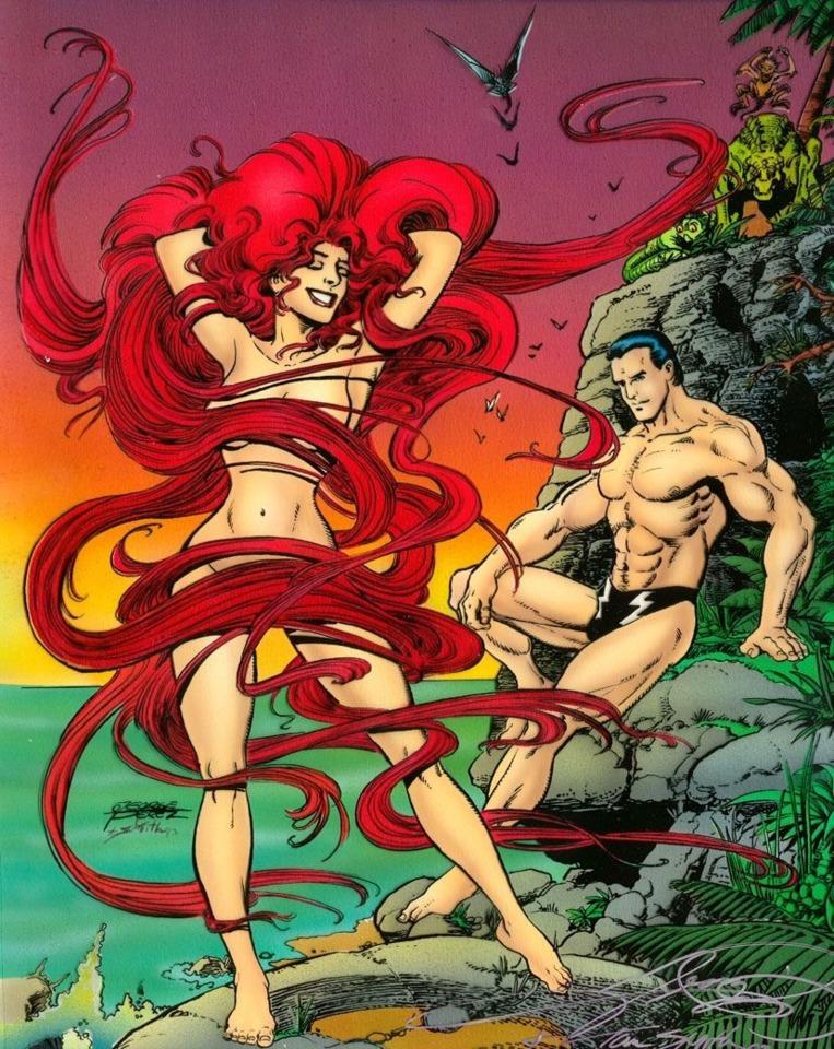 Nude Comic Characters