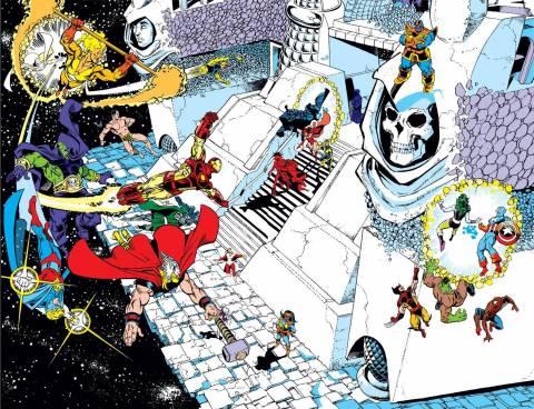 Thanos VS. the Marvel Universe