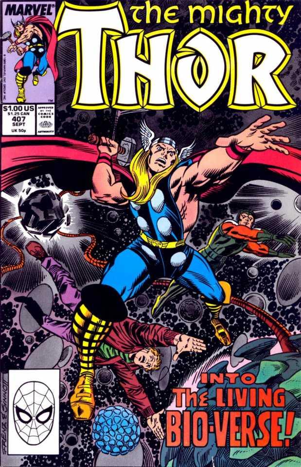 The Mighty Thor #414 February 1990 Marvel Comics