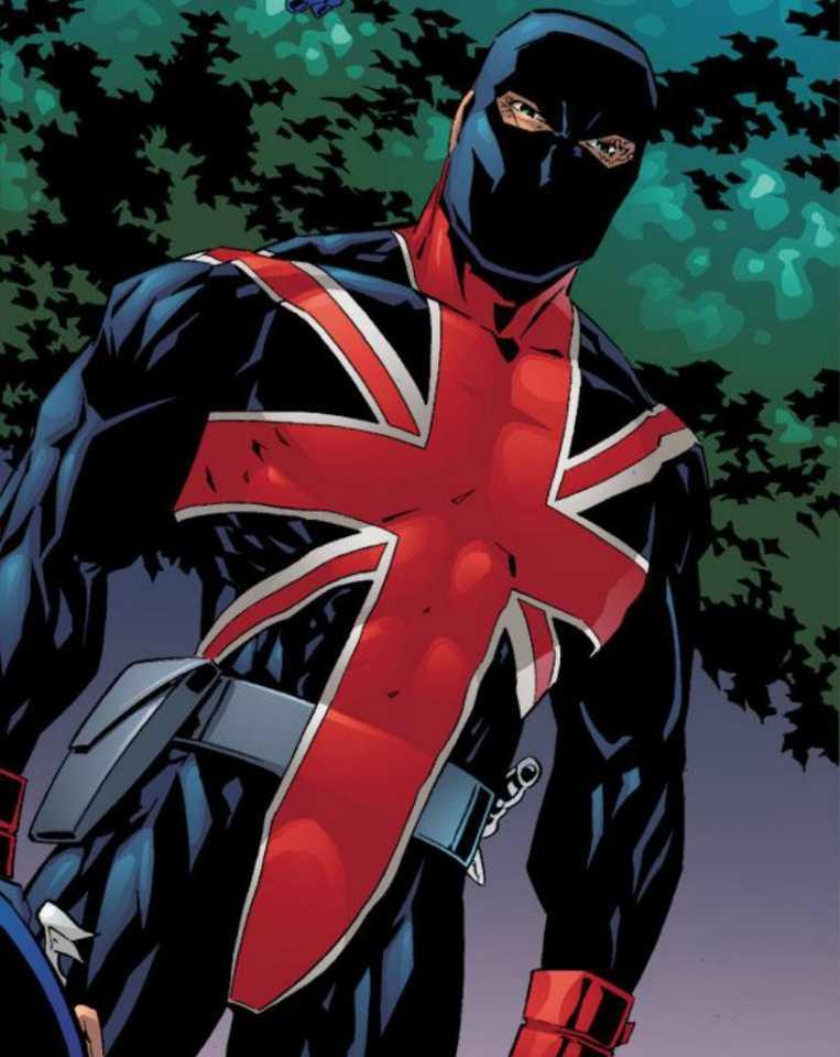 Kenneth as Union Jack