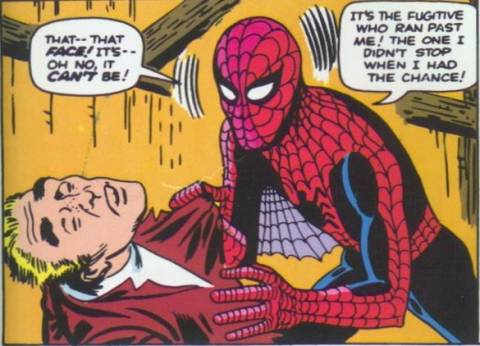 Peter Parker realises his grave mistake