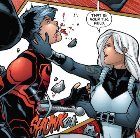 Rose vs. Superboy