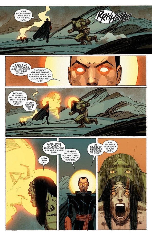 Mentally switched off Skaar's form