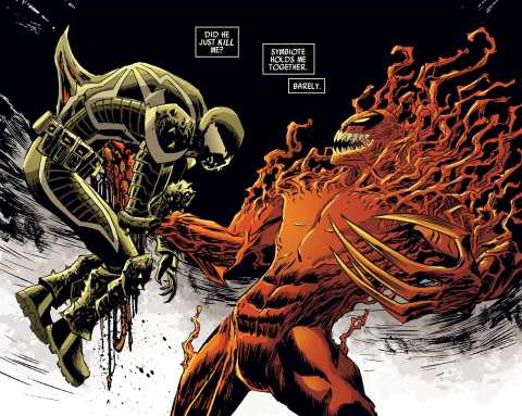 Toxin impales Venom