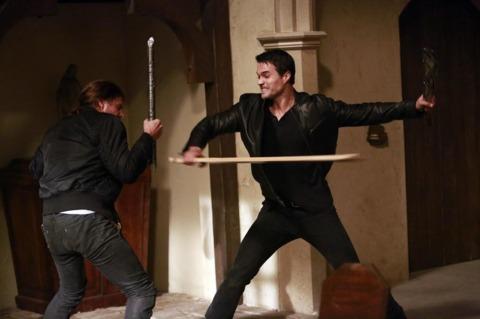 Ward wielding part of the Berserker Staff
