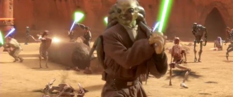 Kit Fisto was known for his smile.