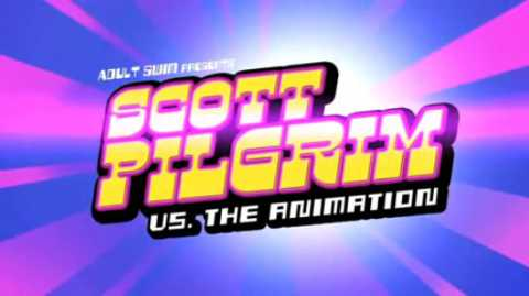 The intro to Scott Pilgrim Vs The Animation.