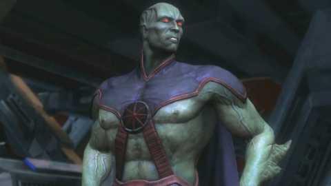 Martian Manhunter in Injustice Gods Among Us.
