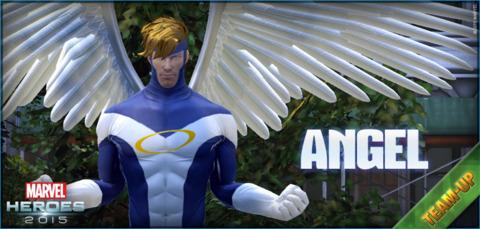 Angel as a Team-Up hero