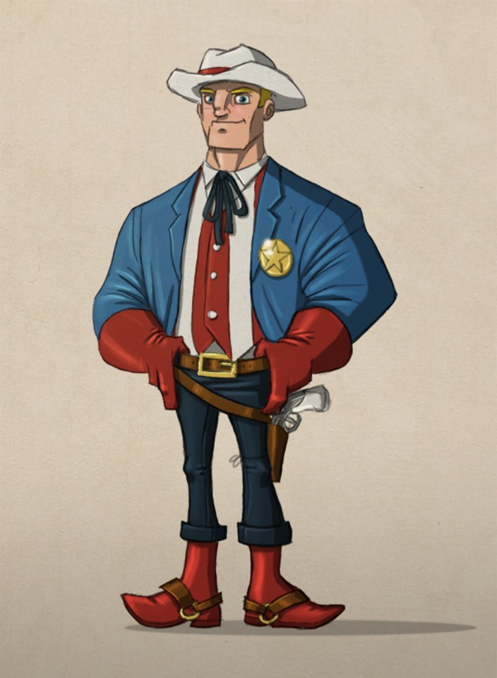 Sheriff Steve Rogers by @payno