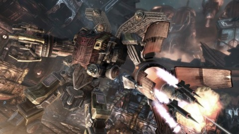Omega Supreme in Transformers: War for Cybertron