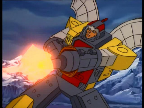 Omega Supreme in the Transformers G1 cartoon