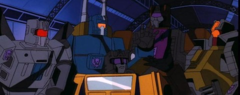 The Combaticons in the Generation 1 cartoon