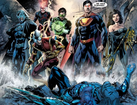 The Crime Syndicate in the New 52