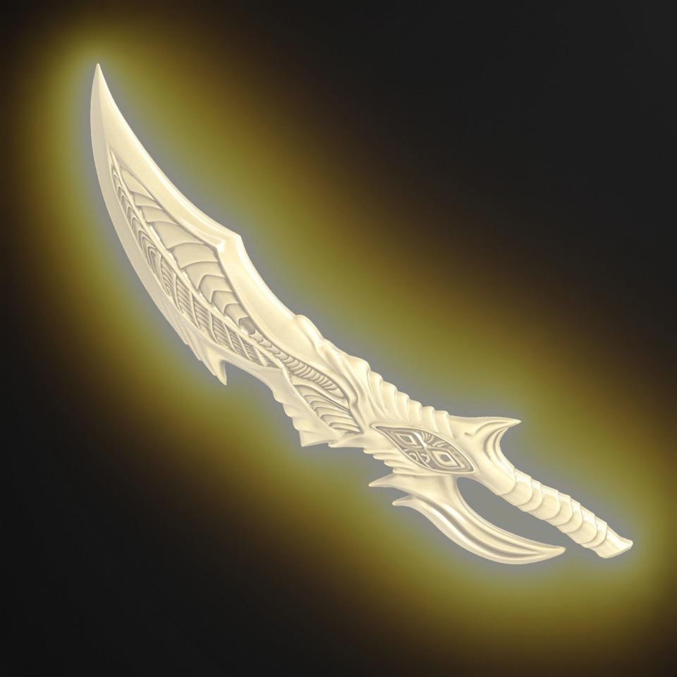 Deathstroke Sword from Titans stl