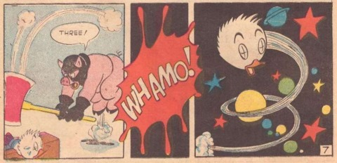 The Pork Chopper decapitates Fauntleroy