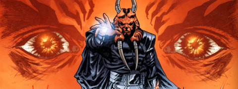 Darth Wyyrlok using the Force.