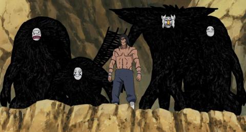 Kakuzu and his masks.