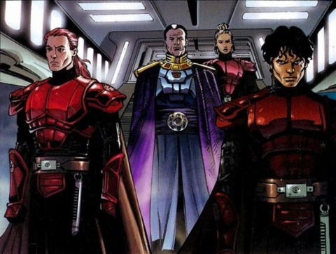 Ganner, Antares, and Emperor Fel.