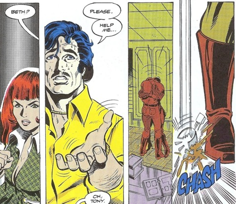 Tony Seeks Help.