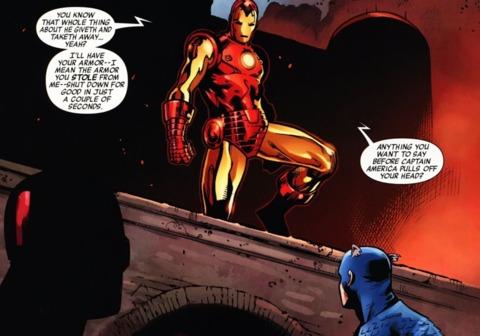 Iron Man during Siege