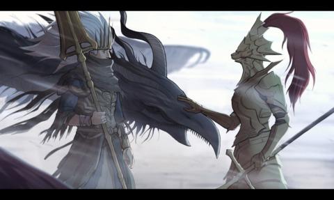 Prince Azure Simet and Princess Arze Simetra combine their forces