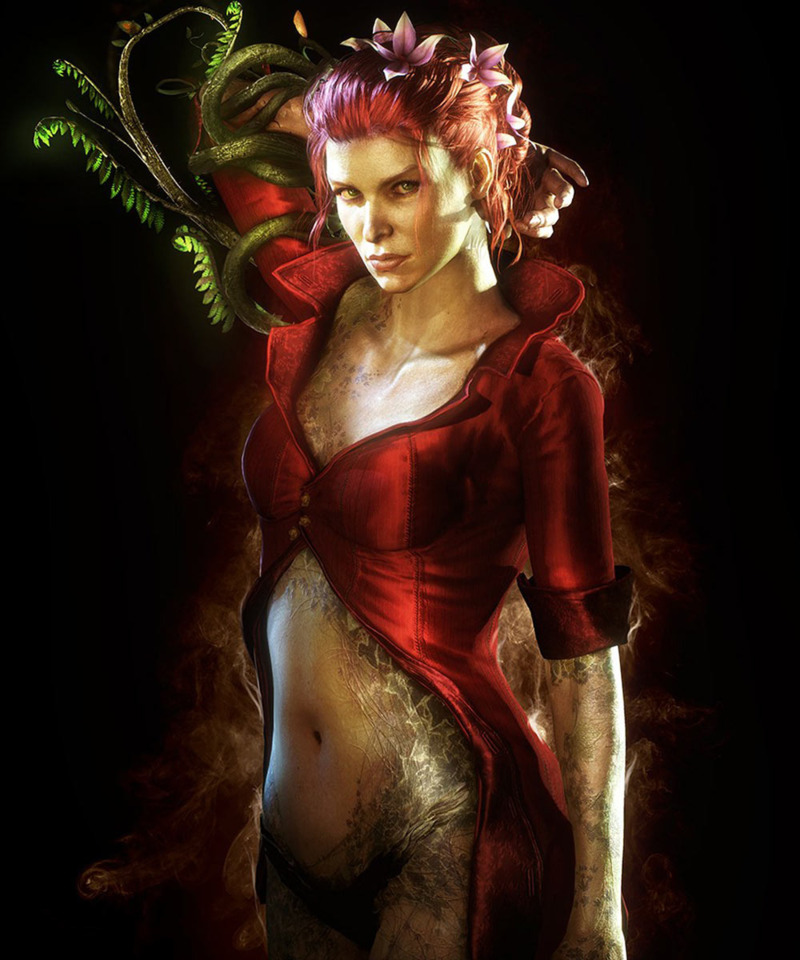 A new take of Poison Ivy by Rocksteady Studio