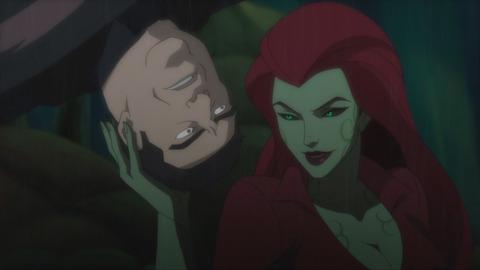 Ivy seducing a guard
