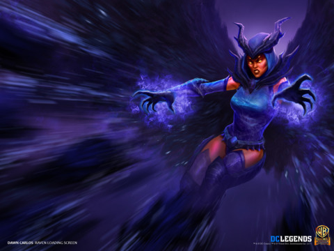 Raven From DC Legends