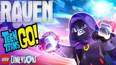Raven from Lego Dimension