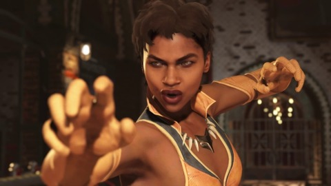 Injustice 2 Vixen in her intro dialogue