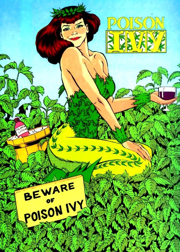 Ivy, the queen of poison