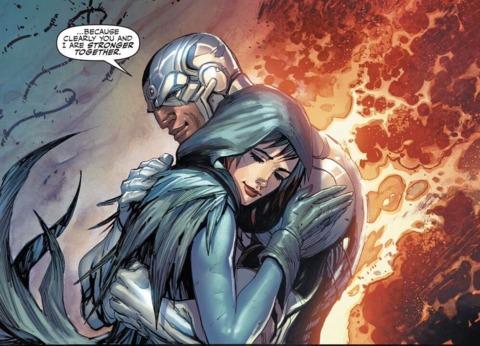 Raven and Cyborg