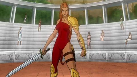 Artemis from Superman/Batman: Apocalypse